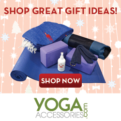 Shop for great gift ideas at YogaAccessories.com!