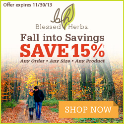 Blessed Herbs - 15% OFF All Products - Ends 11/30