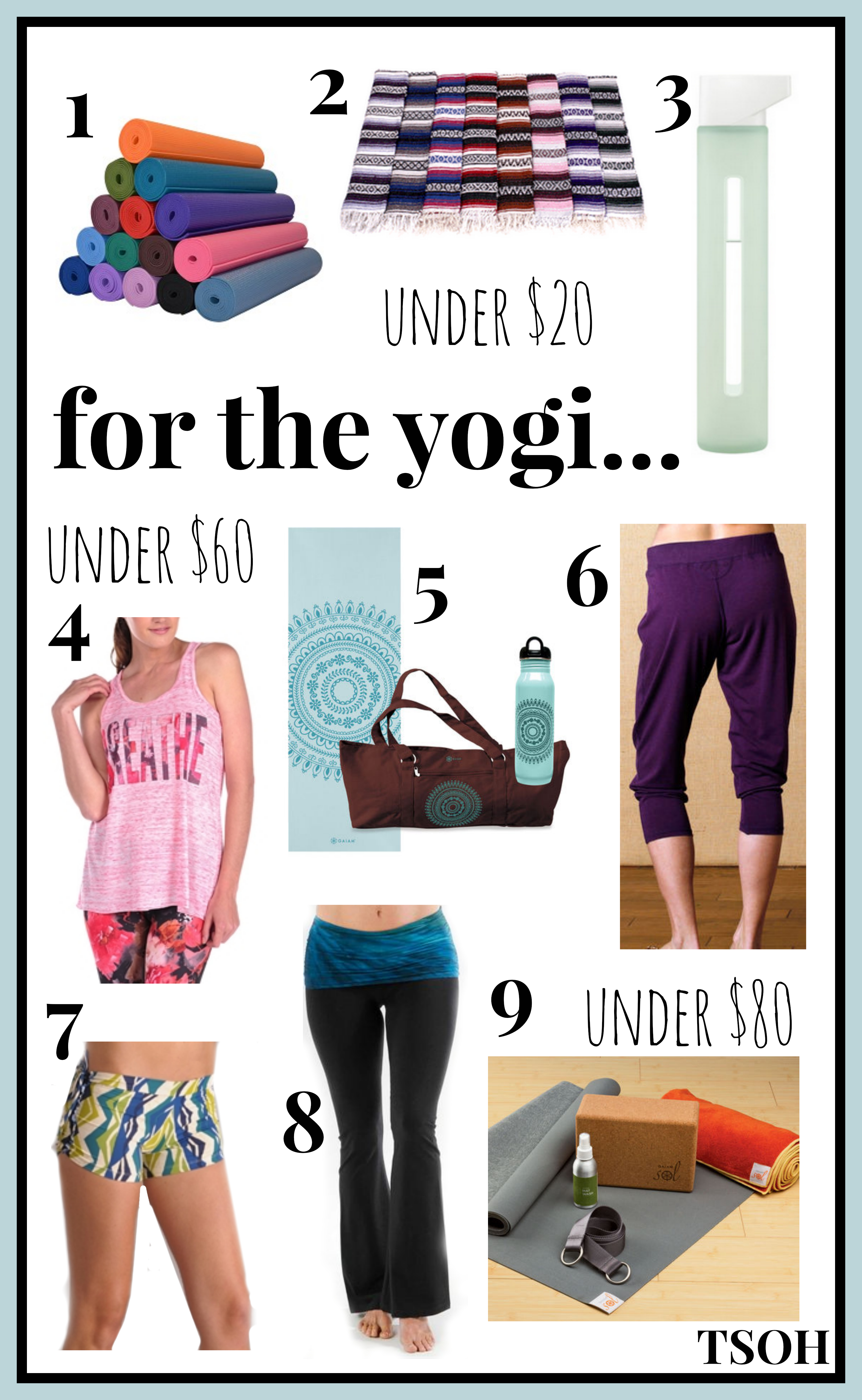 gift guide for the yogi