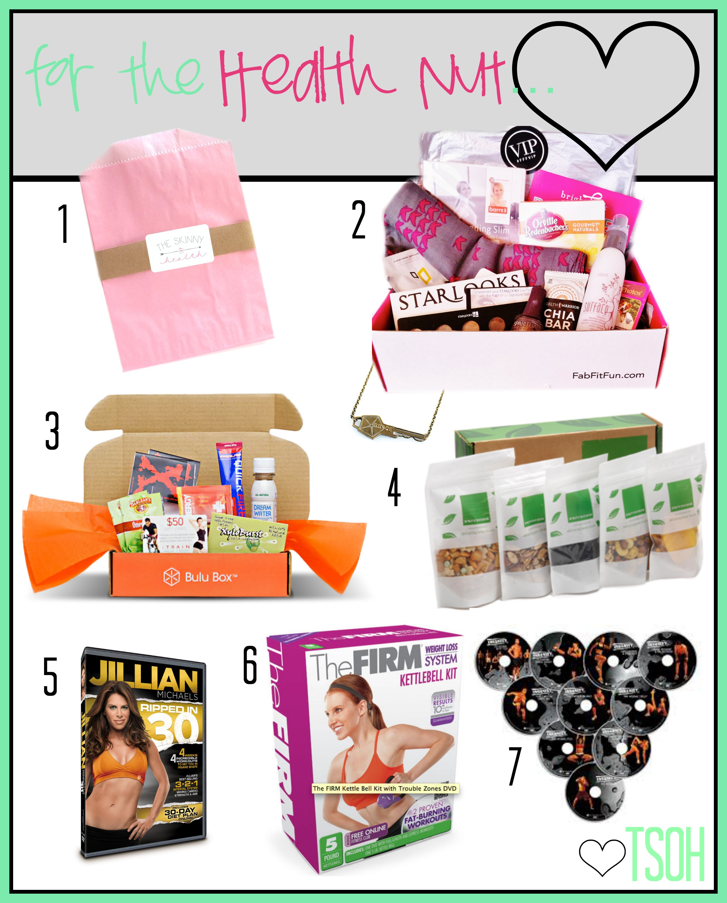 health nut gift guide