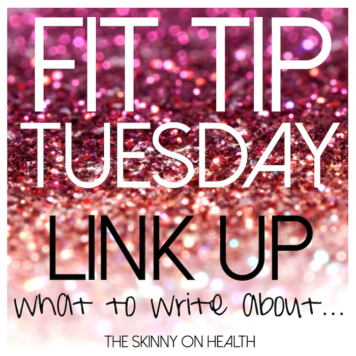 Fit Tip Tuesday What to Write